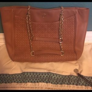 Tory Burch Quilted Bryant Tote Bag
